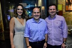 Carla Mota, Roberto Cláudio E Marcos André Borges
