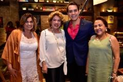 Eveline Veloso, Rosa Gomes, Francisco Campelo E Iracema Aguiar