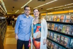 Junior e Marcela Cruz
