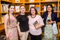 Lara Macedo, Iara Rodrigues, Ana Flávia Esteves e Socorro Melo