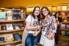 Zaída Torres e Ana Cláudia Arcoverde
