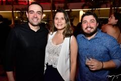 André e Angélica Carvalho e Bruno Lopes