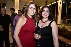 Camila Benevides e Leyla Vasconcelos