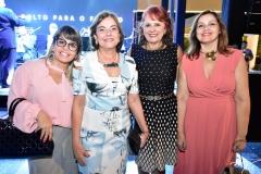 Camila Borges, Ana Maria Studart, Fátima Duarte e Rosangela Cavalcante