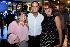 Camila Borges, Beto Studart e Fátima Duarte