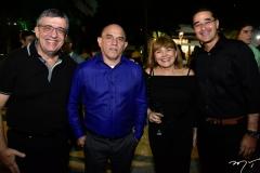 Daniel Arruda, Sávio Dias, Heliane Carvalho e Paulo Mauricio