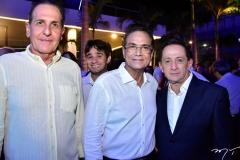 João Fiúza, Beto Studart e Fábio Pinto
