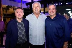 Maurício Filizola, José Moraes e Kaliu Otoch