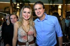 Onélia e Camilo Santana