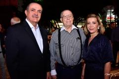 Paulo Sérgio Quezado, Edson Ventura e Tania Quezado