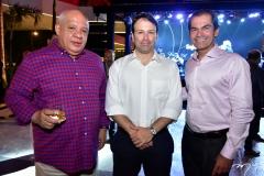 Pedro Alfredo, Lauro Fiúza e Cândido Pinheiro