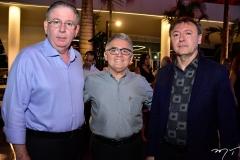 Ricardo Cavalcante, Aniceto Rocha e Maurício Filizola