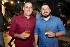 Roberto Carlos Silvio e Bruno Lopes