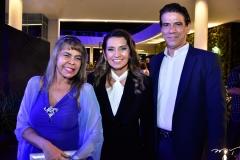 Selma Cabral, Márcia Travessoni e Wilson Loureiro
