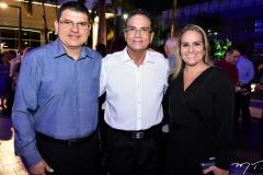 Sérgio Lopes, Beto Studart e Michele Lopes