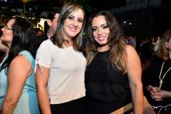 Lívia Meneses e Rosa Fernandes