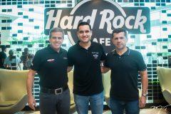 Carlos Galvão, Luiz Sobreira e Erick Vasconcelos