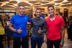 Josenilson Xavier, Leno Costa e Danilo dos Santos