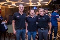 Kal Aragão, Erick Vasconcelos e Carlos Galvão