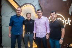 Regis Medeiros, Carlos Galvão, Alexandre Pereira e Erick Vasconcelos