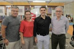 Manuel e Isabel Jucá e Isaac e Jorge Furtado