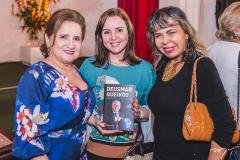 Auricélia Queirós, Nicolle Barbosa e Selma Cabral
