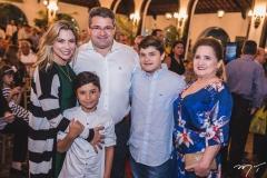Vanessa, Deusmar, Mário, Pedro Henrique e Auricélia Queirós
