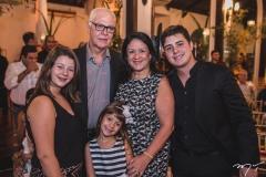 Vitoria, Leticia, Humberto, Rosilândia e Bruno Lima