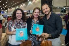 Hertenha Glauce, Lina Sena E Thiago Braga