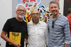 Cardoso Junior, Roberto Galvão e Sergio Helle
