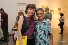Clarisse Ilgenfritz e Mario Sanders