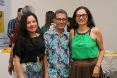 Graciele Karine Siqueira, Mario Sanders e Izabel Gurgel