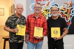 Julio Maciel, Jorge Luís e Cardoso Junior