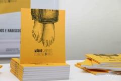 Lançamento do livro 'Correndo o risco', de Mario Sanders