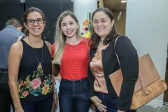 Morgana Vasconcelos, Salete Simões e Niedja Ribeiro