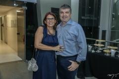 Sandra Rennó e Sidney Leite