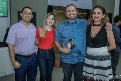 Thiago Freitas, Salete Simões, Expedito Mota e Kelma Felipo