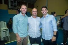 Carlos e Daniel Fiuza e Maurício Targino