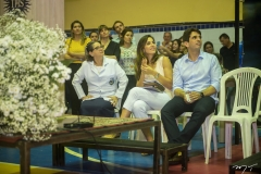 Consuelda Azevedo, Marília Fiuza e Maurício Targino