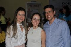 Liana, Carol e Nisabro Fujita
