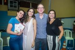 Lilian, Marília, Sérgio e Gina Fiuza