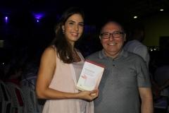 Marília Fiúza  e Padre Eugênio