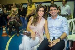 Marília Fiuza e Maurício Targino