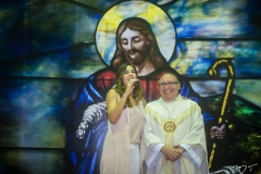 Marília Fiuza e Padre Eugênio