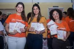 Marina Figueiredo, Larissa Ximenes e Daniela Frota