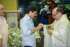Maurício Targino e Padre Eugênio
