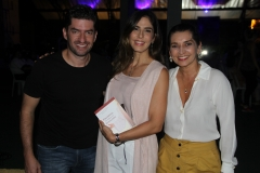 Paulo Benevides, Marília Fiuza e Márcia Travessoni