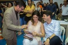 Paulo Moregola, Marília Fiuza e Maurício Targino