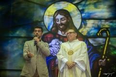 Paulo Moregola e Padre Eugênio