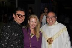 Racine e Branca Mourão e Padre Eugênio
